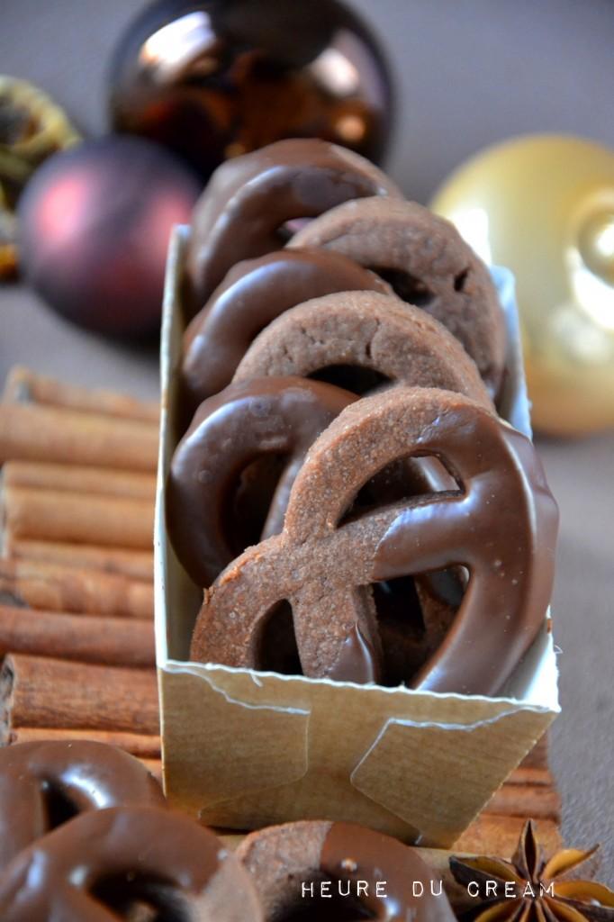 bretzels chocolat