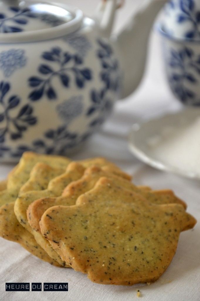 biscuits au thé earl grey