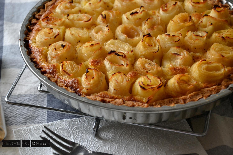 tarte aux pommes amelioree