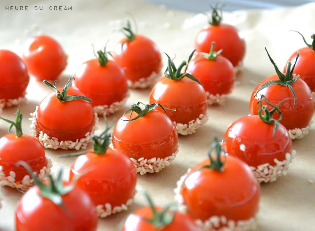 tomates caramélisées
