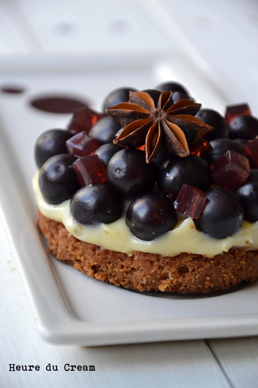 crousti-crémeux aux raisins