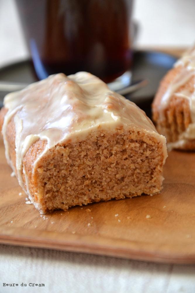 Cake aux noix et café