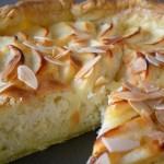 Gâteau amandine aux pommes