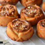 Cakes noix de pécan, pomme & golden syrup