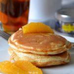 Pancakes au thé et à la mandarine (concours inside)
