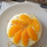 Cheesecake aux agrumes et pralin (sans cuisson)
