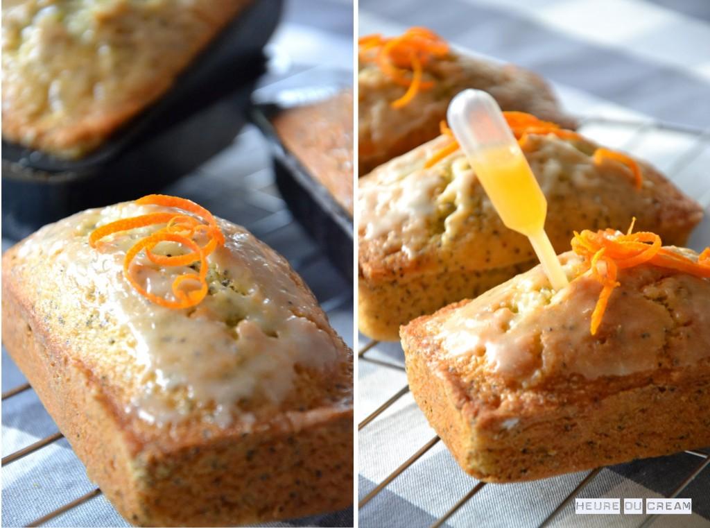 Mini cakes pavot mandarine