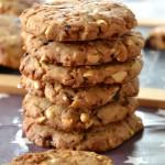 Cookies aux cacahuètes, chocolat et éclats de Salidou