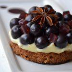Crousti-crémeux aux raisins et épices