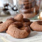 Demi-lunes noix et chocolat