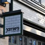 Déjeuner chez Jamie's Italian, London