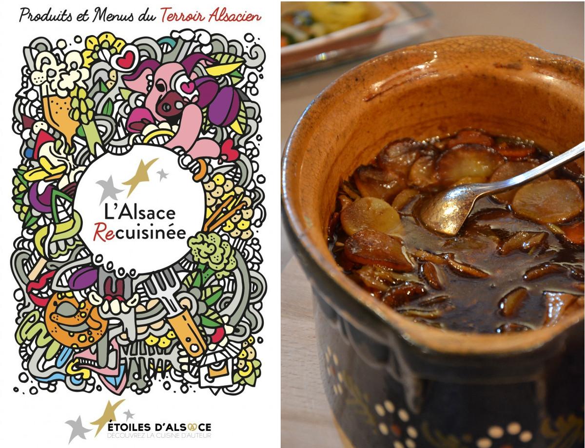 Alsace recuisinée