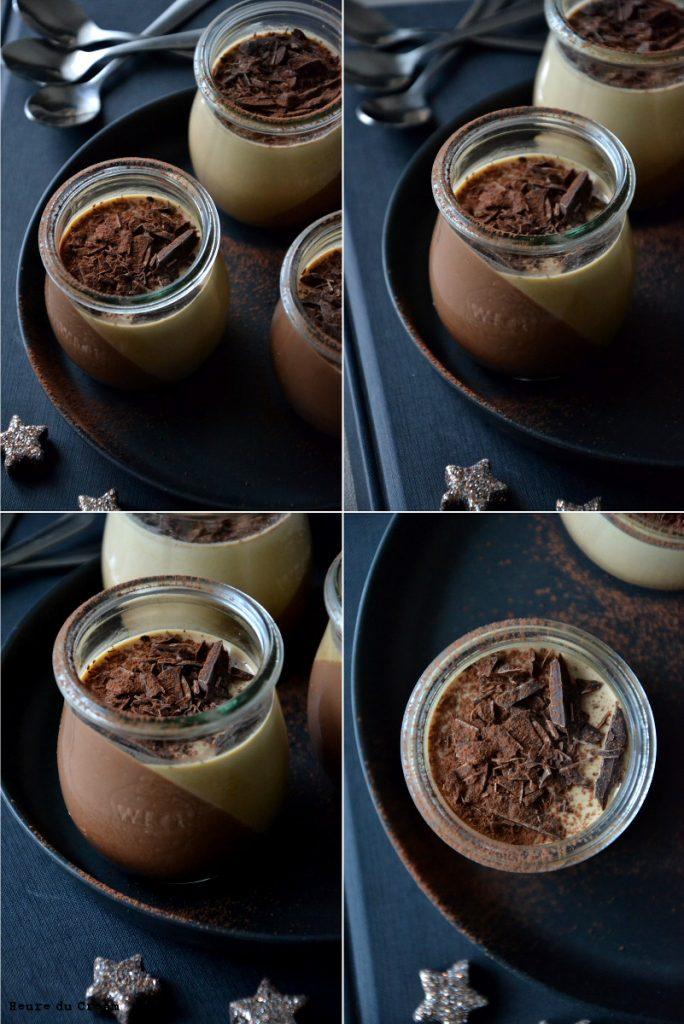 panna cotta chocolat cafe