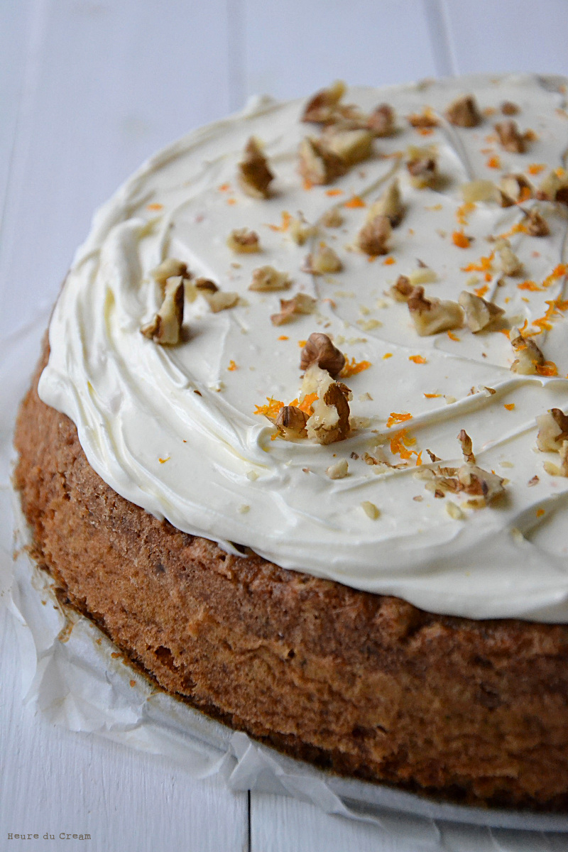 carrot cake Ottolenghi