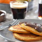 Pancakes à la courge butternut (pumpkin pancakes)
