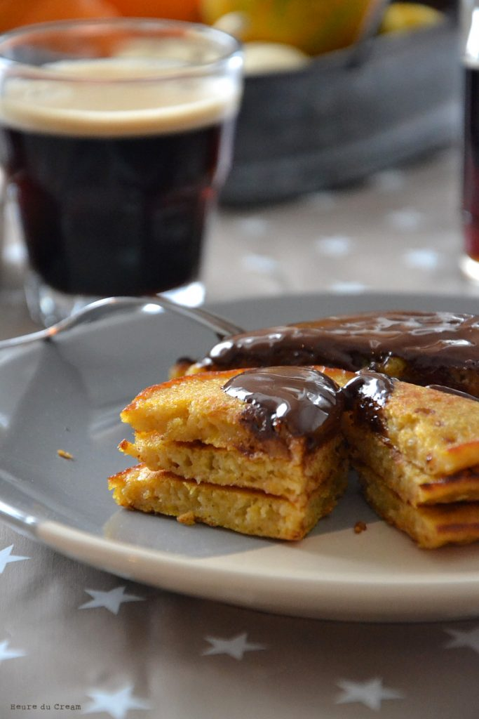 pancakes à la courge butternut