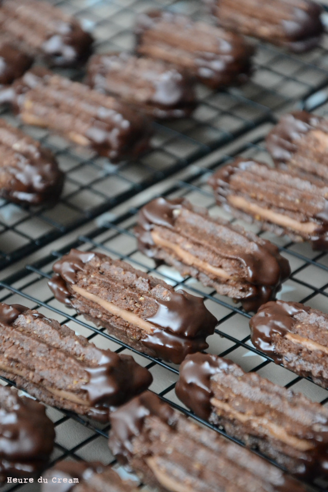 bâtonnets chocolat praliné