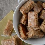Briquettes aux noix et épices